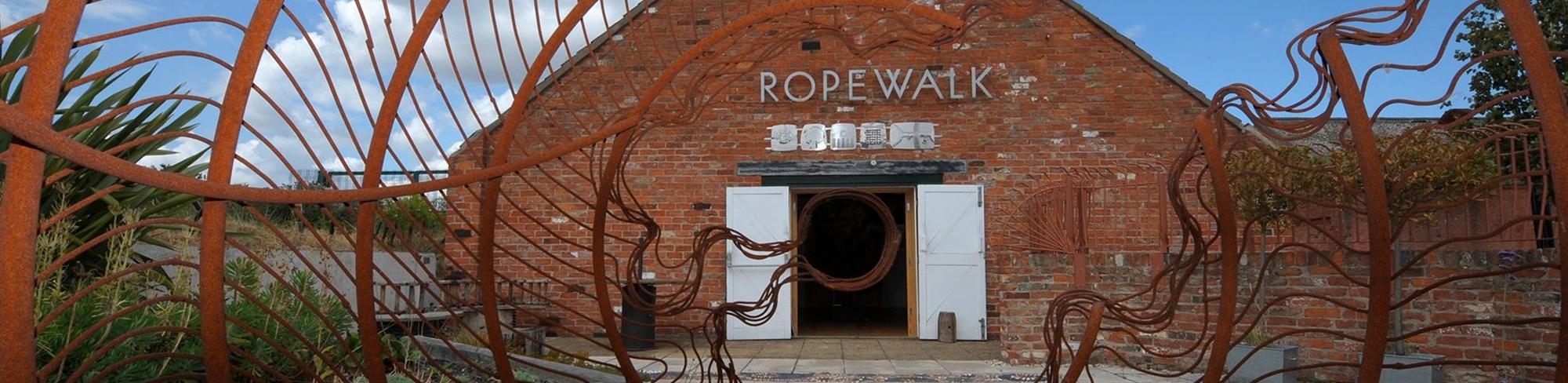Ropewalk banner